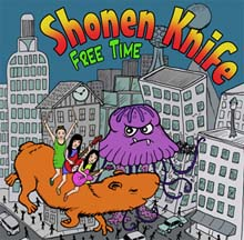 Free Time – Shonen Knife DAMNABLY005 | [CD] | £9.99