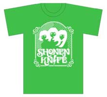 Shonen Knife Official T-Shirt MERCH | £15